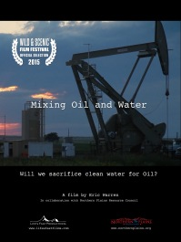 Mixing Oil and Water Poster