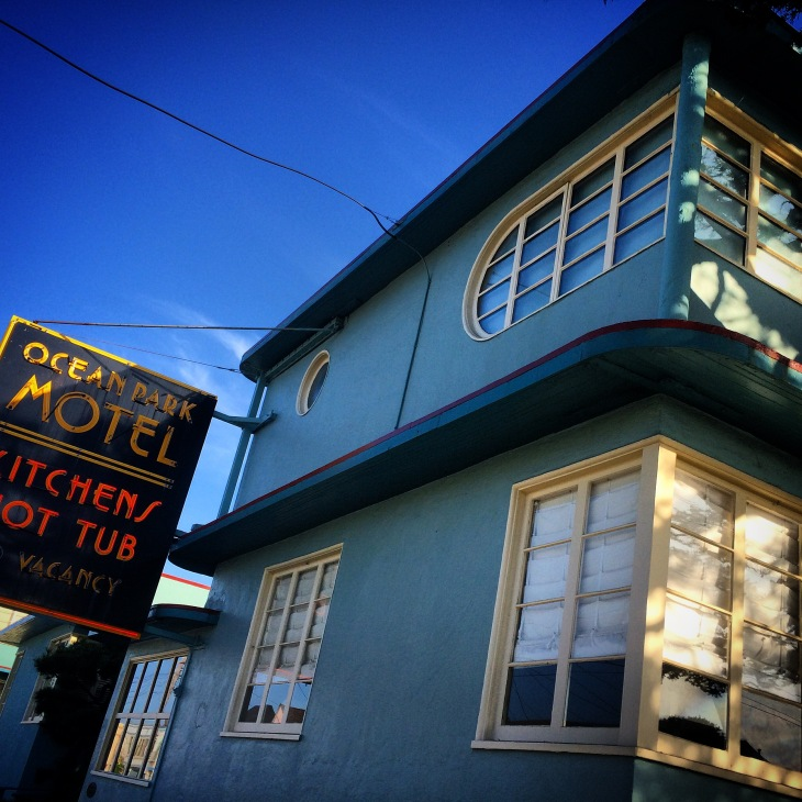 San Francisco's first Motel. Imagine what kind of stories could come out of this place.