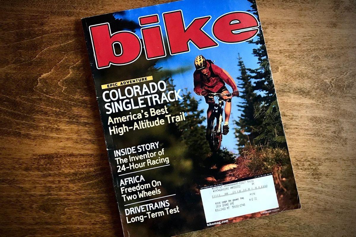 September 2001 bike magazine