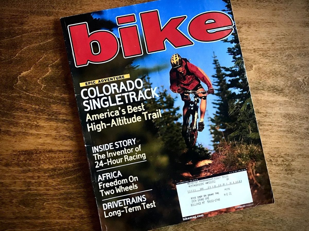 September 2001 bike magazine